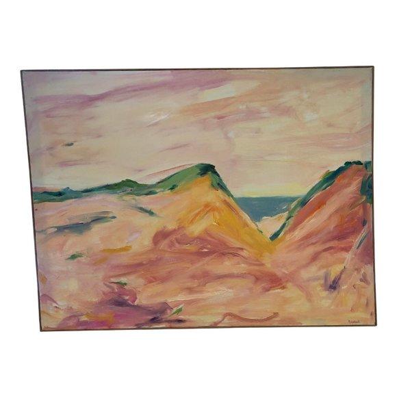 "Vintage Other - ""Wellfleet"" Vintage 70s Original Abstract Painting"